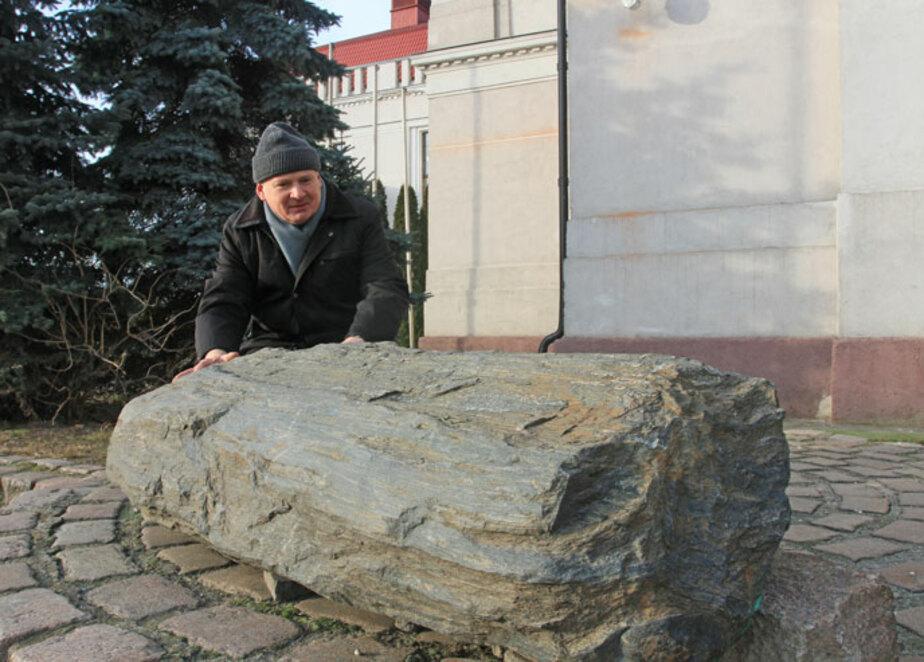 Ровесник динозавров: как калининградец нашёл камень, которому сотни миллионов лет  - Новости Калининграда