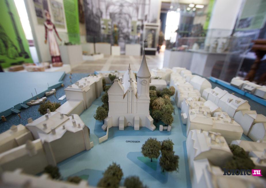 В Калининградском историко-художественном музее можно будет прогуляться по Кёнигсбергу