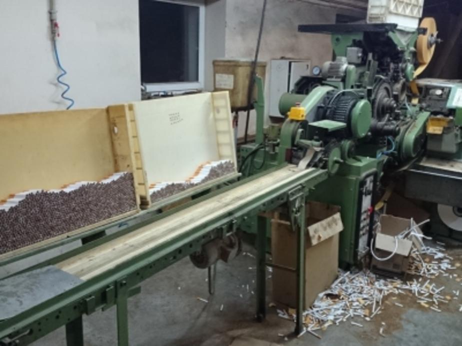 Калининградская полиция обнаружила подпольную табачную фабрику - Новости Калининграда