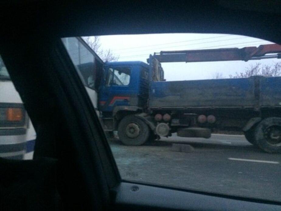 При столкновении автобуса и грузовика пострадал ребенок - Новости Калининграда