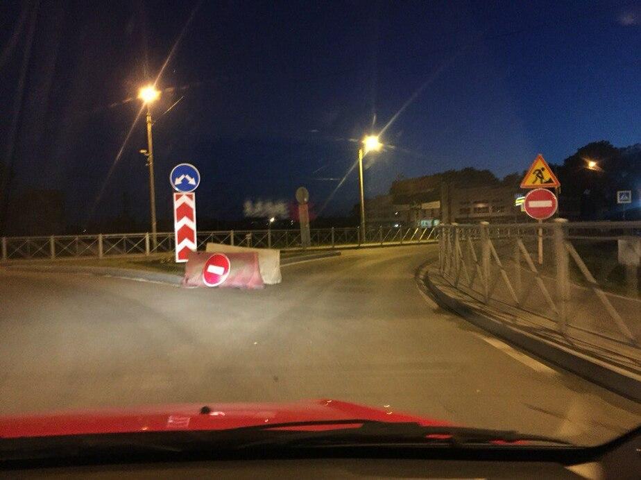В Зеленоградске ремонтируют дорогу на въезде в город (схема) - Новости Калининграда