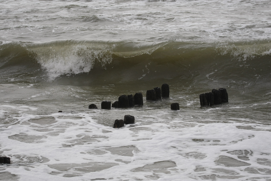 В Балтийском море поднялся шторм - Новости Калининграда