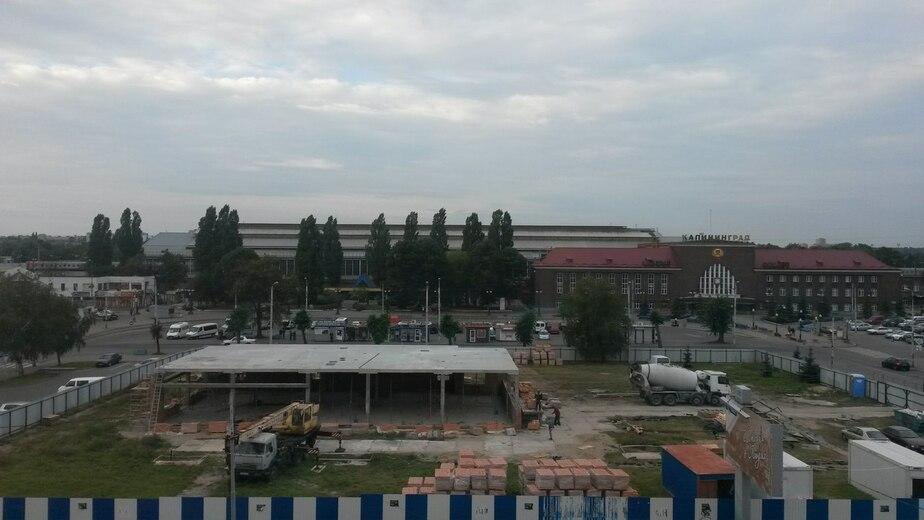 """Калининградцы жалуются на шум от строительства """"Макдоналдса"""" - Новости Калининграда"""