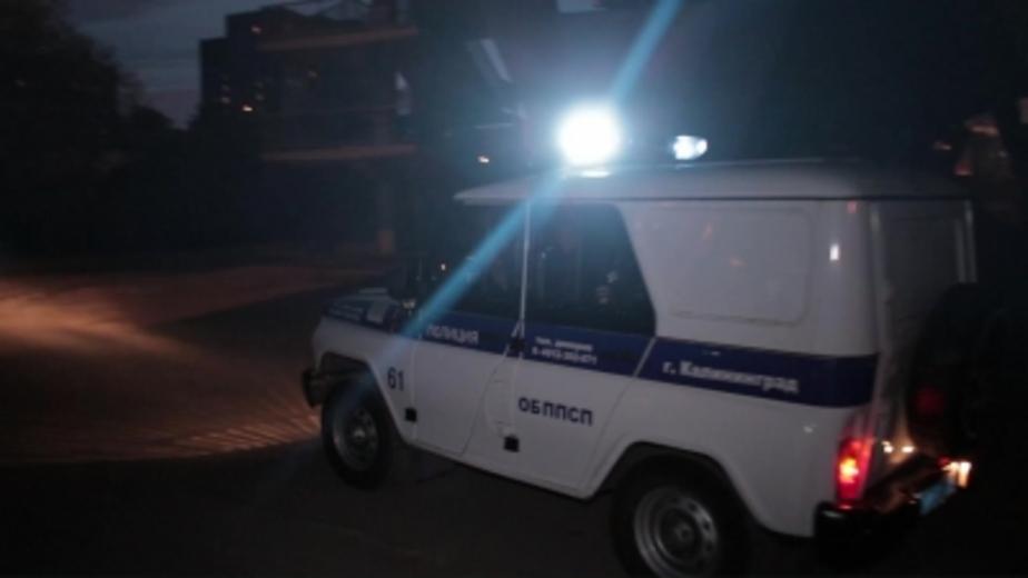 Калининградец сообщил в полицию о выдуманном ограблении