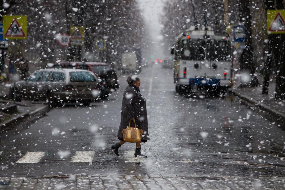 В Калининградской области прогнозируются потепление, мокрый снег и метель - Новости Калининграда