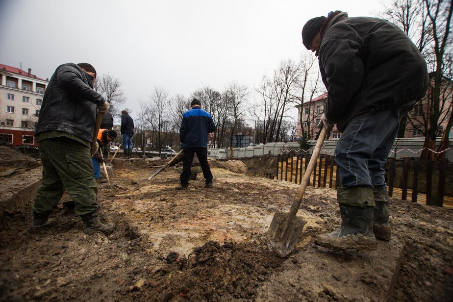Археологи обнаружили сенсационные находки на ул. Сержанта Колоскова - Новости Калининграда
