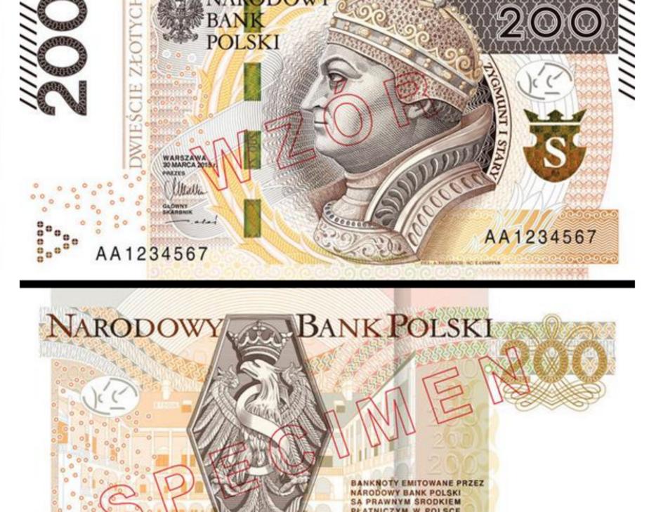 В Польше выпустят в обращение новую банкноту