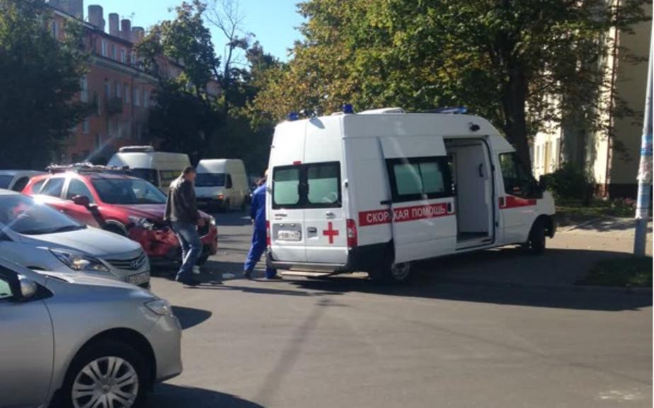 В Калининграде после столкновения с внедорожником пострадал байкер - Новости Калининграда