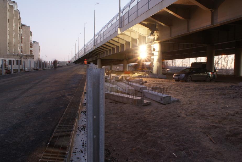 Съезды со второй эстакады сделают до конца года, но поехать по ним можно будет весной - Новости Калининграда