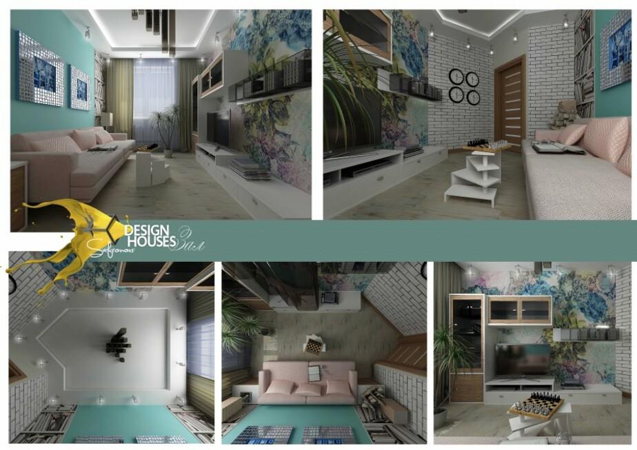 Дизайнерский ремонт в стенах однокомнатной квартиры - Новости Калининграда