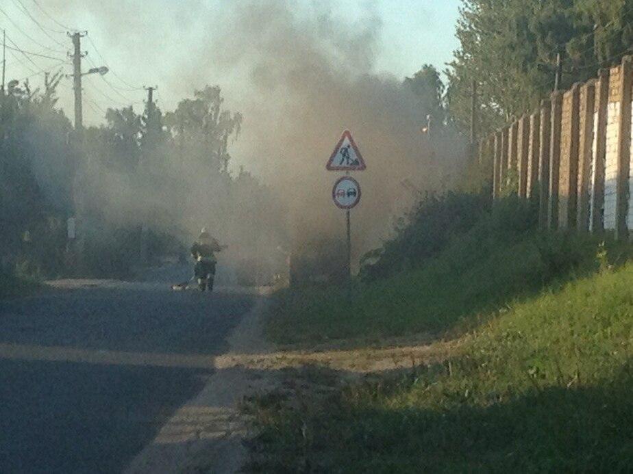В Янтарном и Балтийске сгорели автомобили - Новости Калининграда
