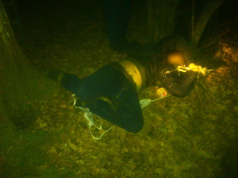 В парке Макса Ашманна нашли повешенного мужчину с обмотанными скотчем руками (дополнено) - Новости Калининграда