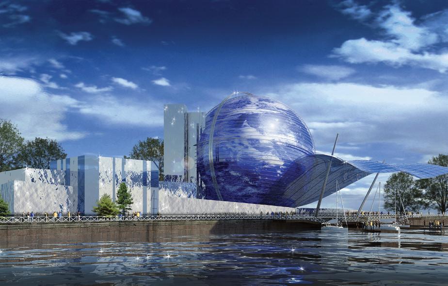 В Калининграде возобновилось строительство здания «Планета Океан» - Новости Калининграда