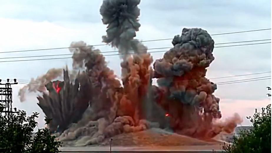 Кадр с видео: Rusvesna.su.Syria