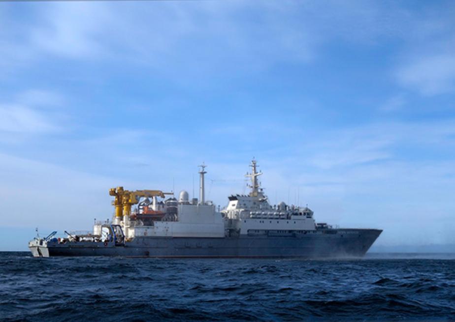 """В Балтийском море проходит испытания будущий """"ангел-хранитель"""" ВМФ"""