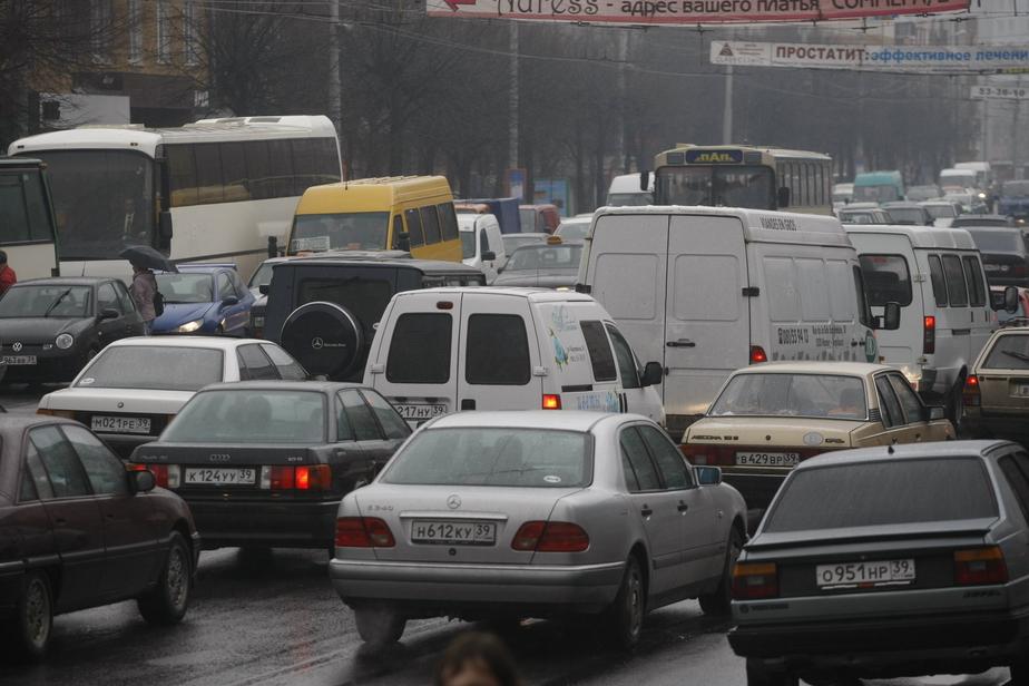 Калининградские автомобилисты обратились в правительство России из-за спорной дорожной разметки - Новости Калининграда
