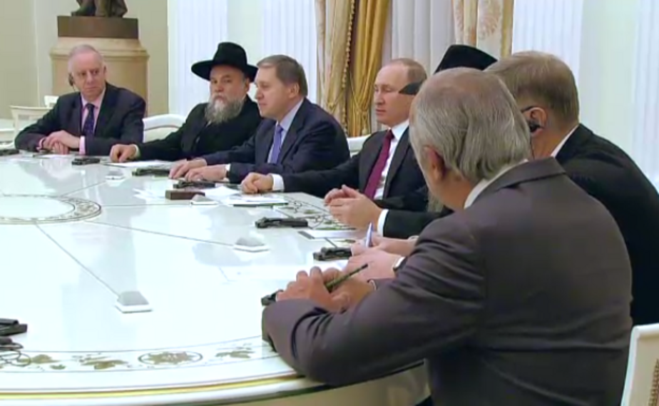 Путин предложил евреям вернуться из Европы в Россию