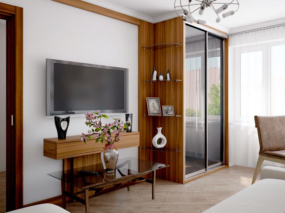 Компания «Дизайн Центр» подошла к просьбе читательницы «КД»  комплексно, спроектировав не только интерьер,  но и мебель для гостиной. - Новости Калининграда