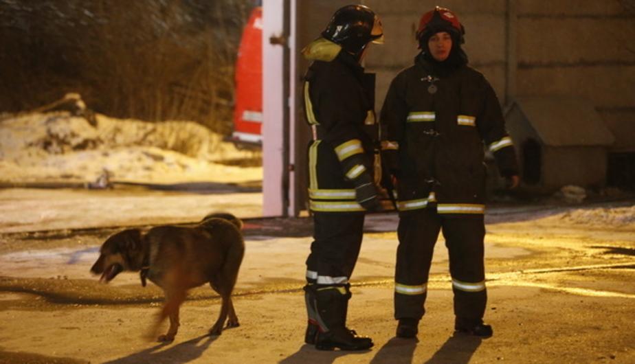 В Калининграде на Московском проспекте ночью горели две фуры - Новости Калининграда