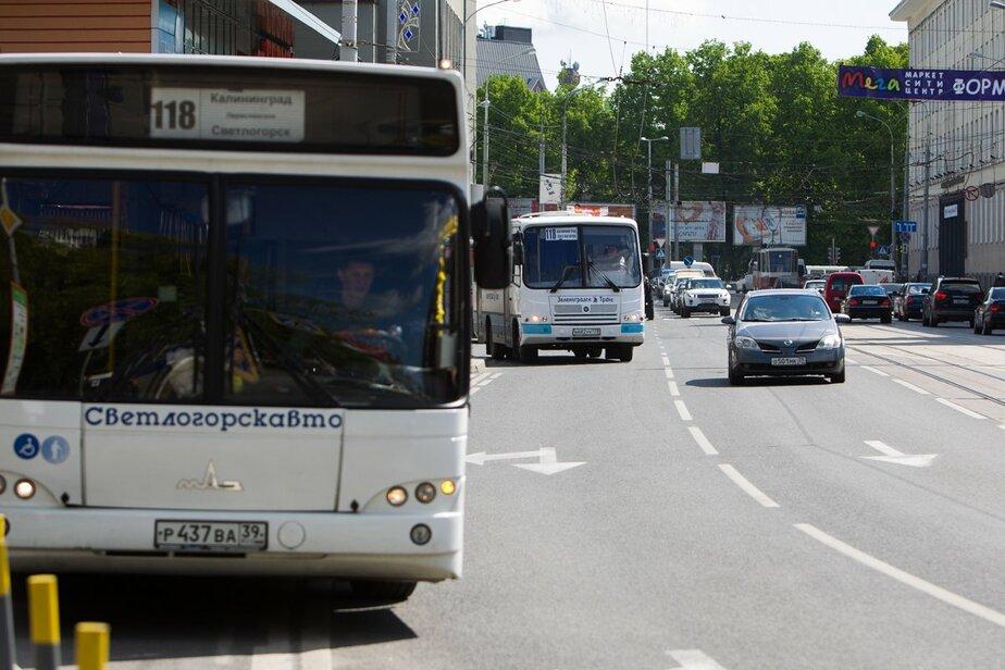 Власти Калининграда запустят сайт с новостями о новой маршрутной сети   - Новости Калининграда