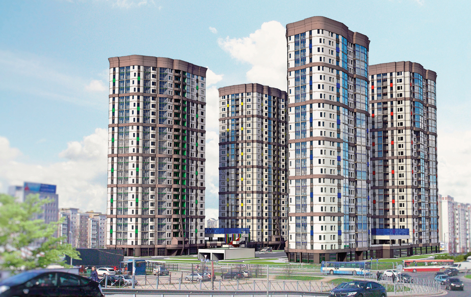 Компания «Акфен» активно строит дома по всему Калининграду - Новости Калининграда