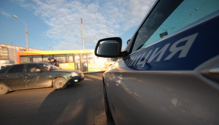 На проспекте Победы задержали автоугонщика