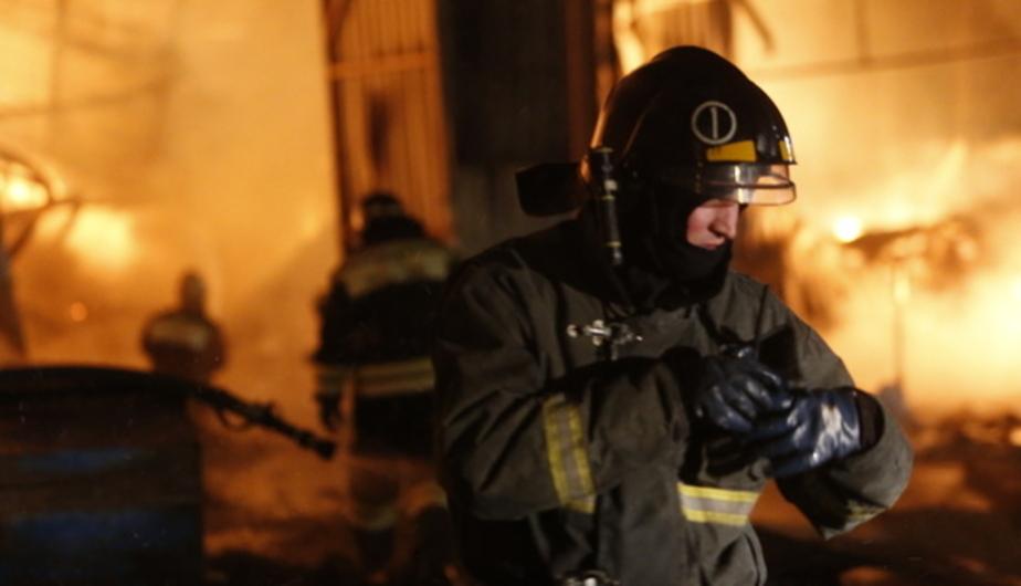 В Калининграде горел жилой дом, есть пострадавшие