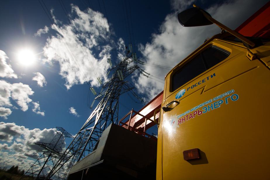 Янтарьэнерго вводит режим повышенной готовности из-за штормового предупреждения