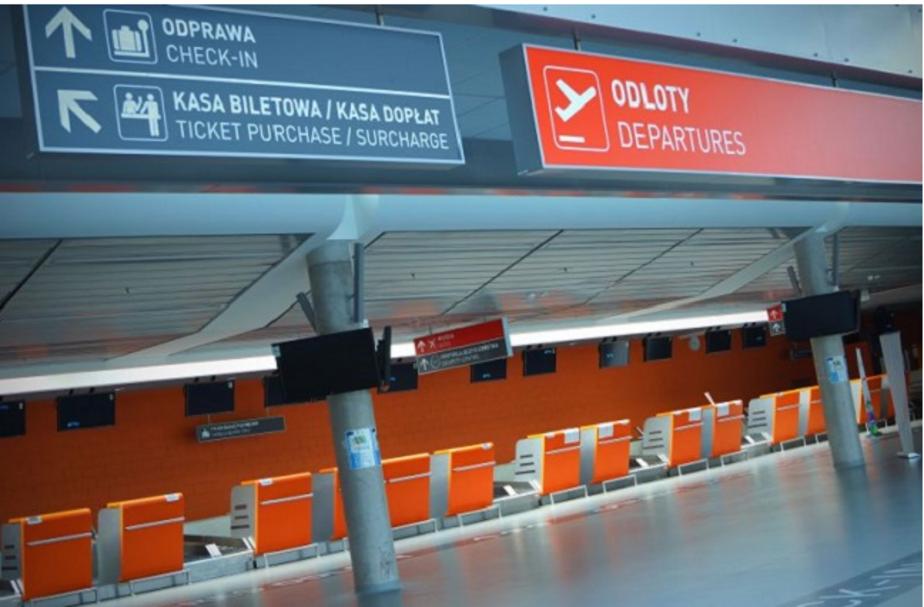 В Варшаве из-за угрозы теракта эвакуировали аэропорт