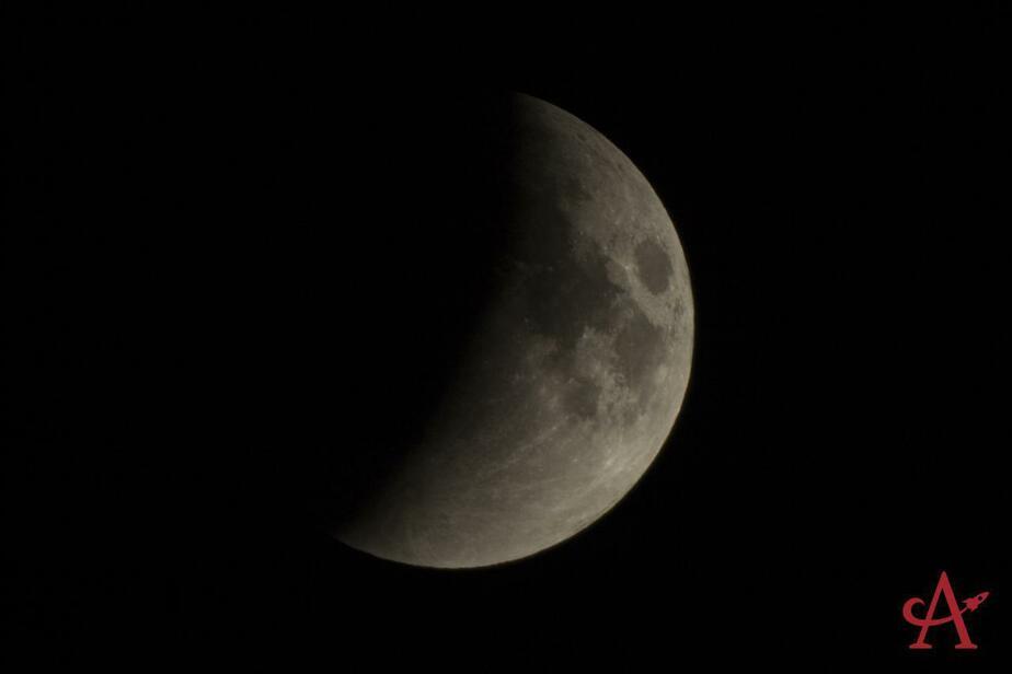 """Супербольшая: """"кровавая"""" Луна через телескоп калининградских астрономов (фото) - Новости Калининграда"""