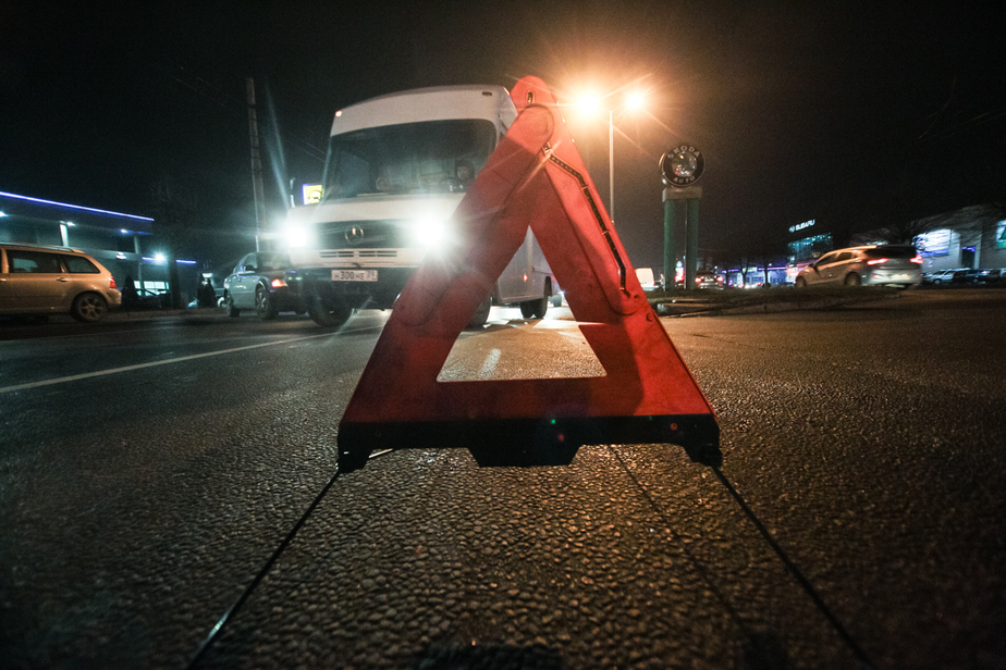ГИБДД предупреждает калининградских водителей о похолодании и гололедице