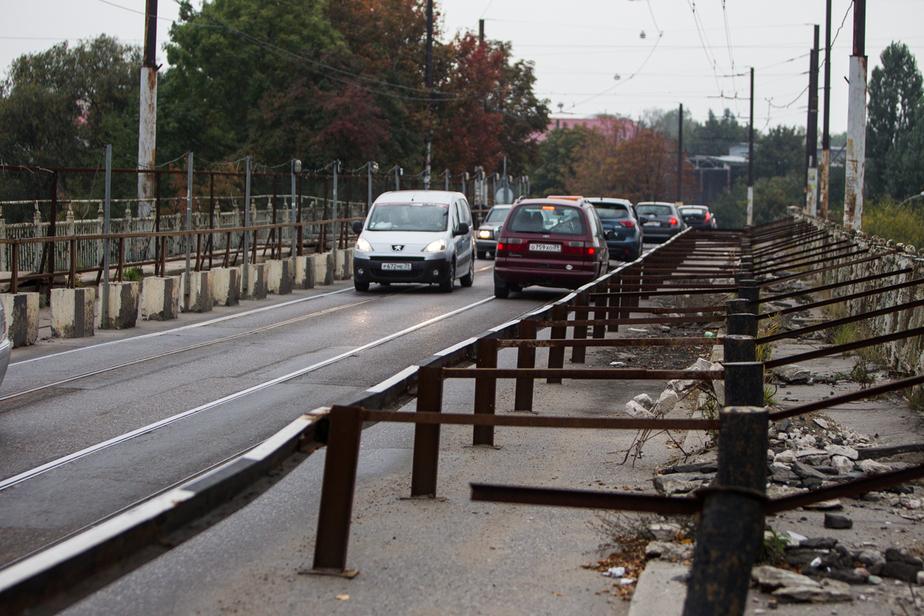 Временно закрывается движение по мосту на улице Суворова - Новости Калининграда