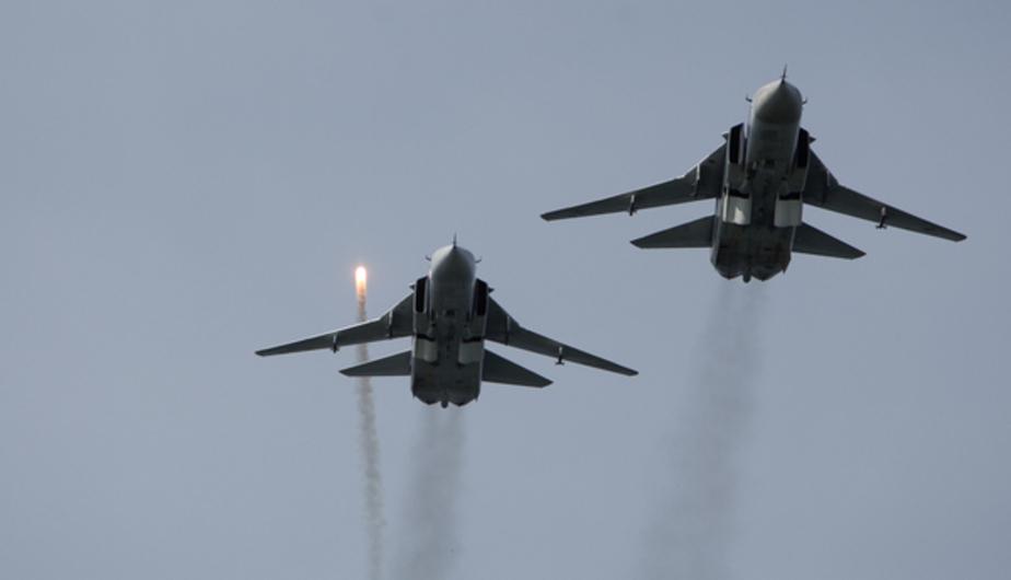 Россия вдвое увеличила авиагруппировку в Сирии