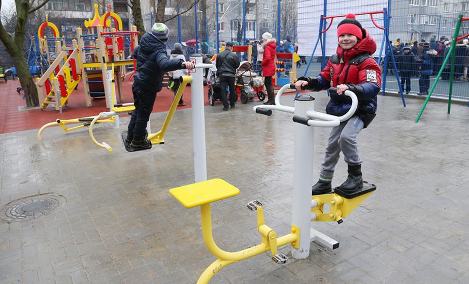 В Калининграде открыли новую спортплощадку - Новости Калининграда
