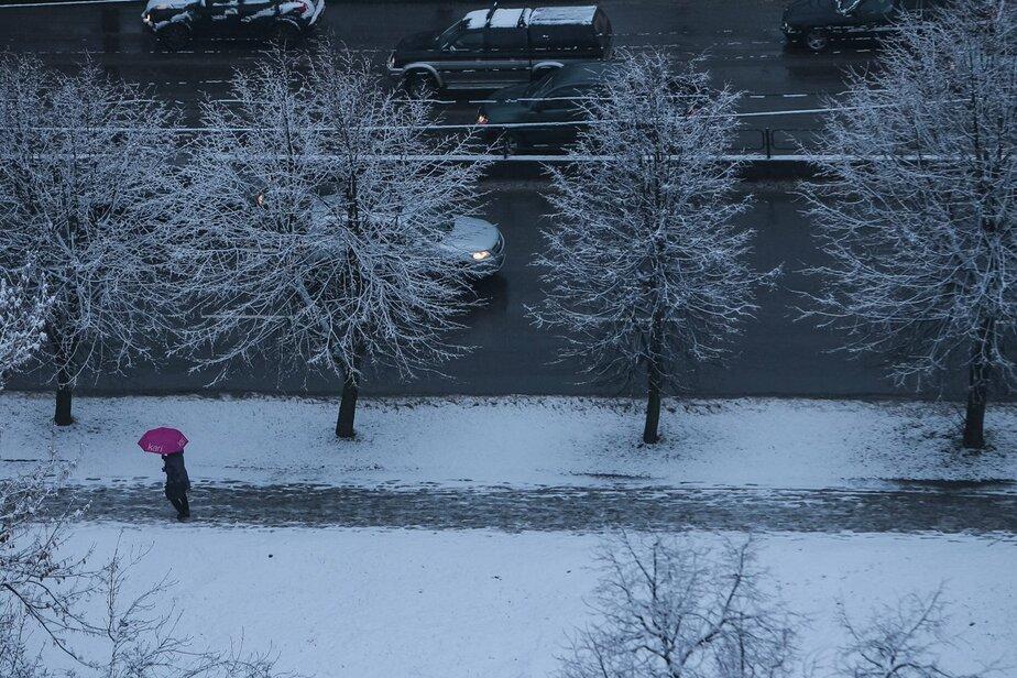 Синоптики обещают калининградцам снег и гололёдицу