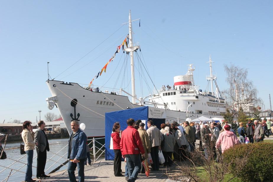 Калининградское музейное судно стало плавучим отелем - Новости Калининграда