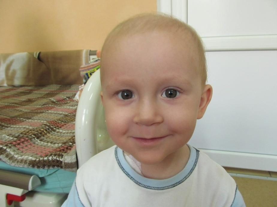 Слабость и страх: двухлетнему Паше из Советска срочно требуется донор костного мозга - Новости Калининграда