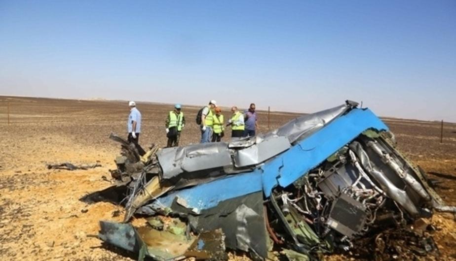 В ФСБ рассказали, где была спрятана взрывчатка в разбившемся над Синаем самолёте  - Новости Калининграда