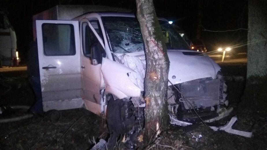 На Балтийском шоссе в столкновении четырёх машин пострадали два человека (фото) - Новости Калининграда