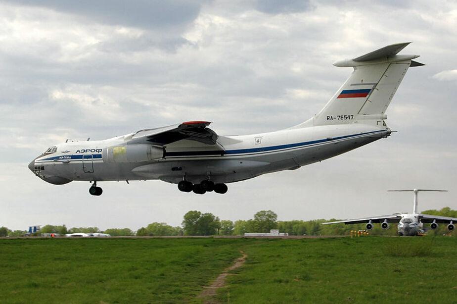 ВВС НАТО сопровождали российский Ил-76 над Балтийским морем