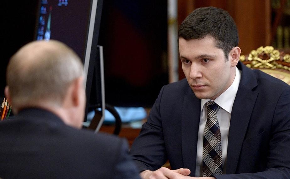 Путин — Алиханову: Человек вы молодой, но достаточно опытный  - Новости Калининграда