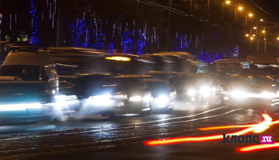 МЧС предупреждает калининградских водителей о гололедице