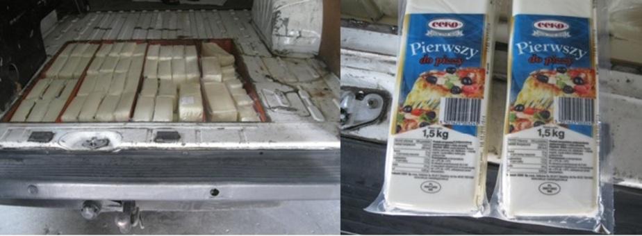 На полигоне в Калининградской области захоронили 210 кг польского сыра  - Новости Калининграда