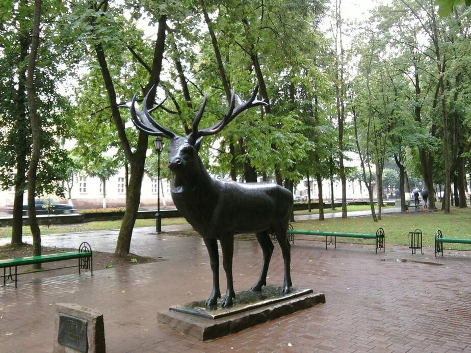 Смоляне не хотят возвращать в Калининград скульптуру кенигсбергского оленя - Новости Калининграда