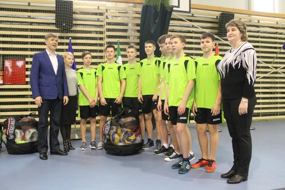 """В """"Дружбе"""" прошли соревнования по волейболу для школьников из Советска и Славска - Новости Калининграда"""