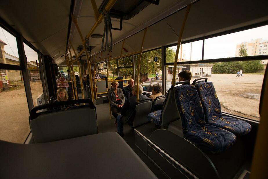 В Калининграде в троллейбусе умер мужчина - Новости Калининграда