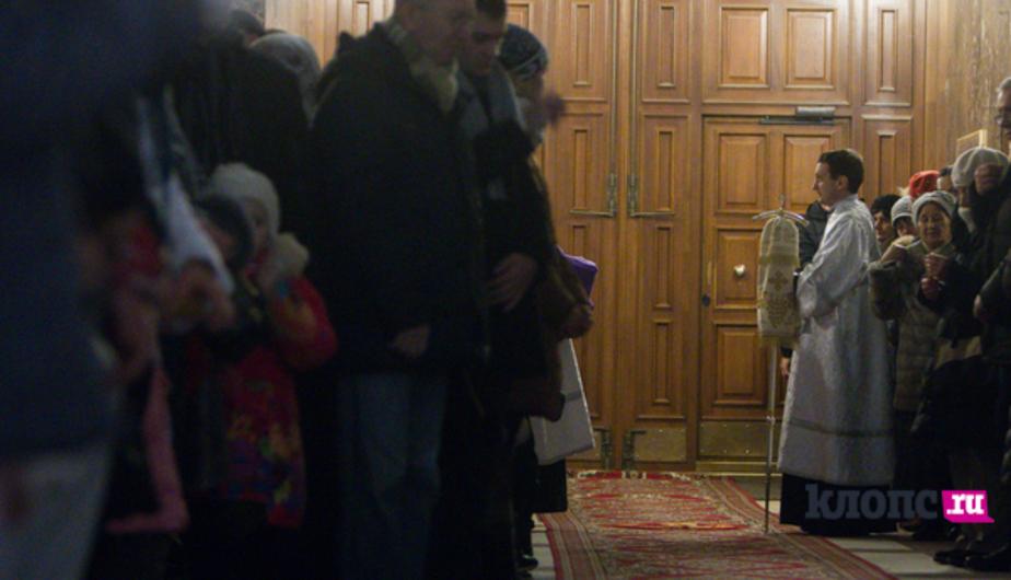 Рождественские службы посетили 17 тысяч калининградцев