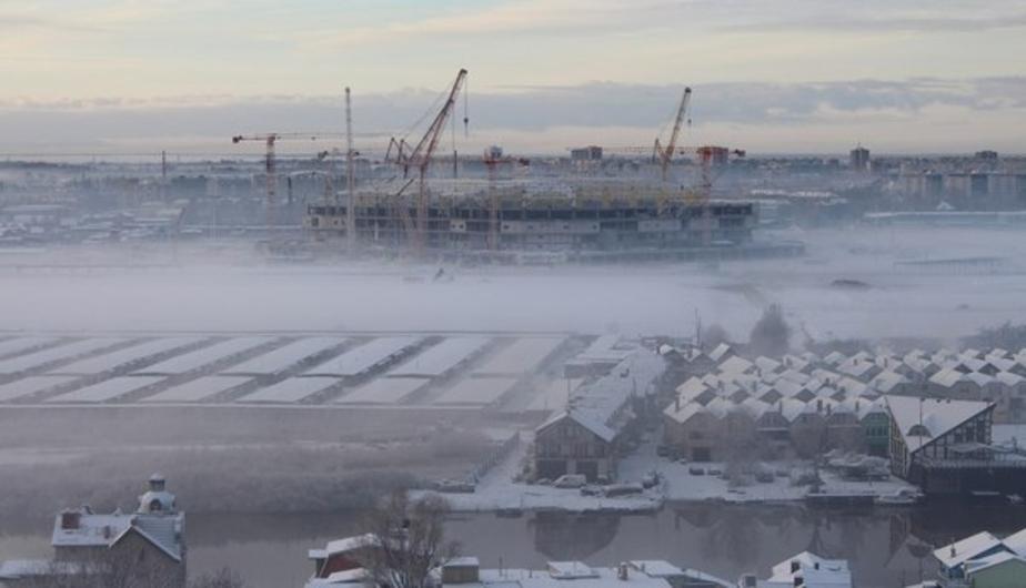 Алиханов хочет освободить строящийся в Калининграде стадион от налога на имущество - Новости Калининграда