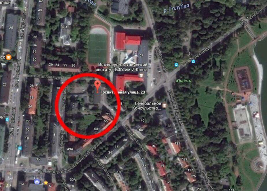 """За парком """"Юность"""" хотят построить жилой дом  - Новости Калининграда"""