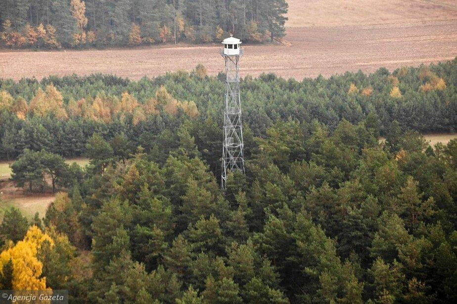 На границе Польши и Калининградской области заработали башни с камерами